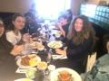 Poi siamo andati tutti a mangiare.