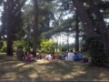 campo estivo a San Lazzaro in inglese