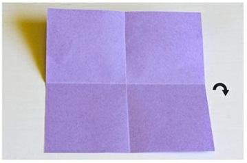 origami fafalla progetti in inglese per bambini