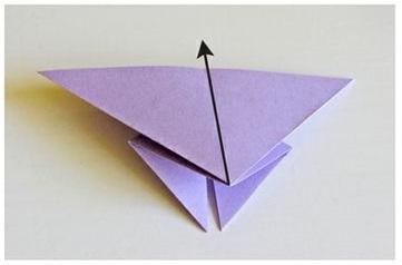 origami fafalla progetti in inglese per bambini 2