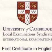 Domande per Cambridge First Certificate