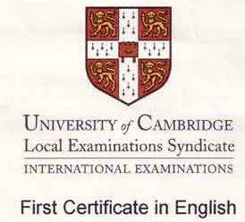 Domande per Cambridge First Certificate