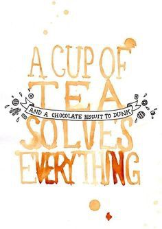 la cultura del tè nel regno unito