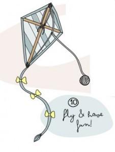 Progetto in inglese per bambini - Come fare un aquilone