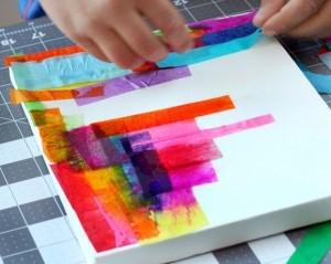 Pittura per bambini - Progetto in inglese