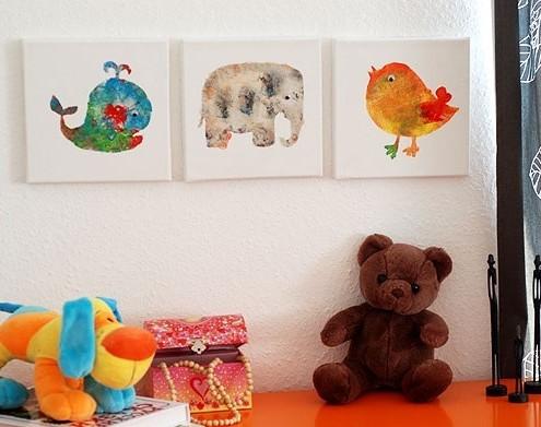 pittura per bambini